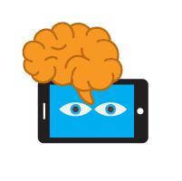 Dengan visualisasi membantu daya ingat lebih lama.